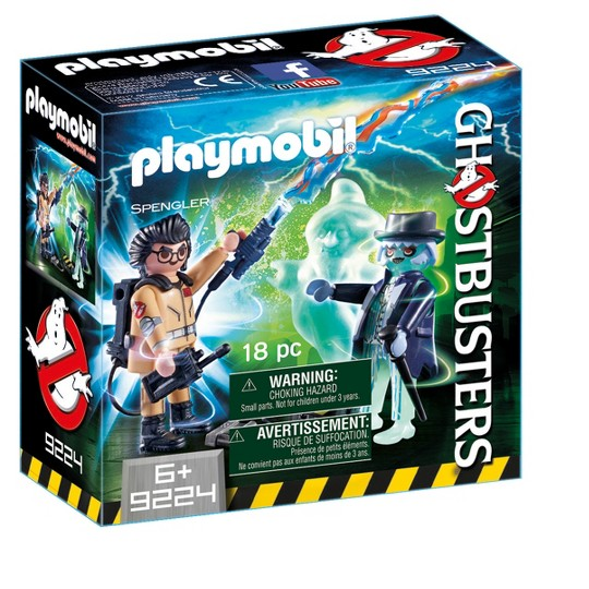 Playmobil Ghostbusters Spengler and Ghost image number null