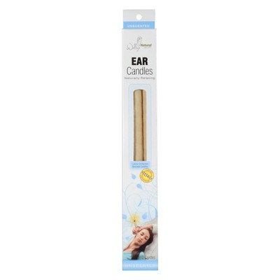 Wally's Natural Ear Treatment Beeswax Candles - 2ct