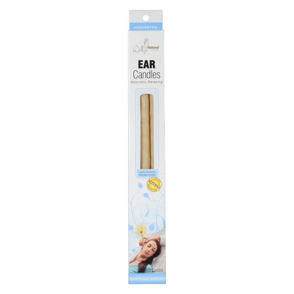 Wally S Natural Ear Treatment Beeswax Candles 2ct