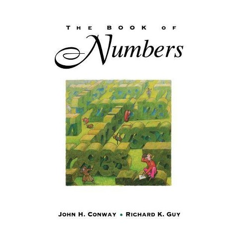 The Book of Numbers - by  John H Conway & Richard Guy (Hardcover) - image 1 of 1