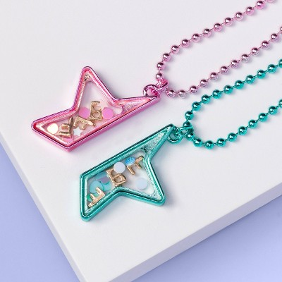 Girls' 2pk BFF Star Necklace Set - More Than Magic™