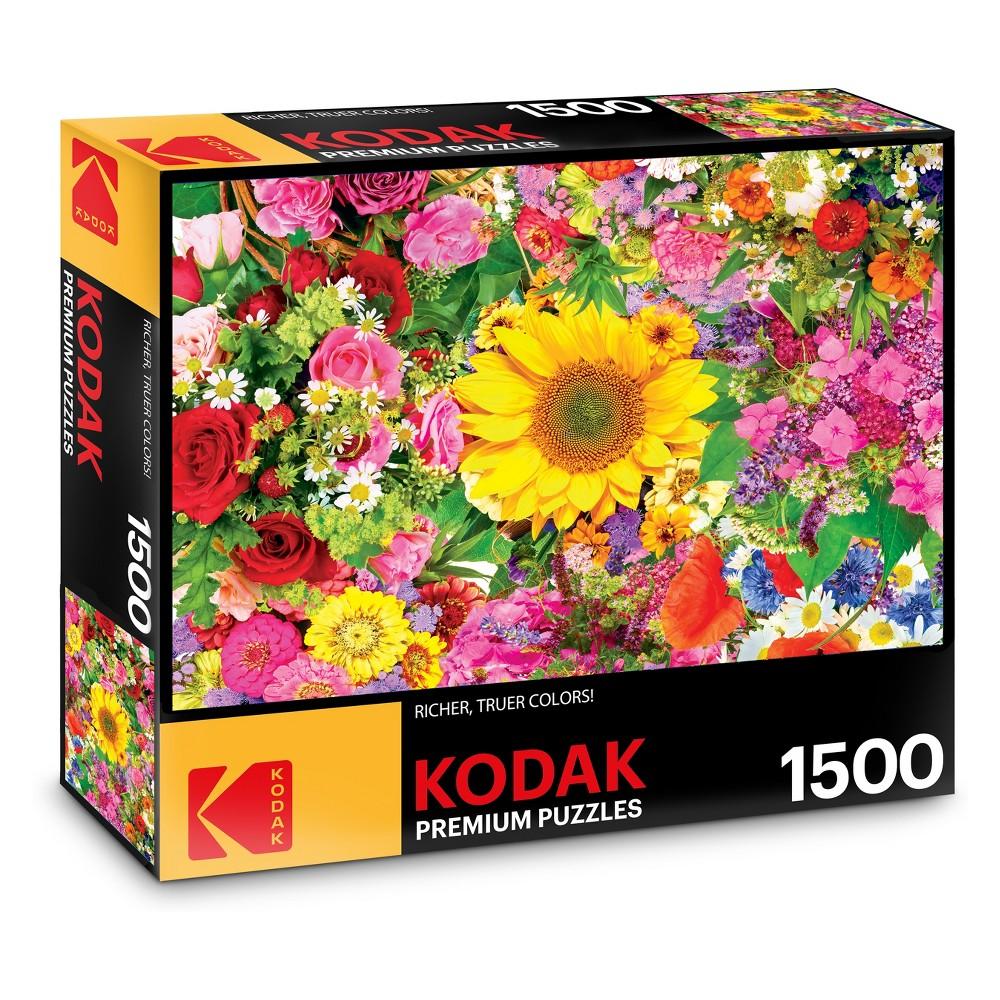 Kodak Premium Puzzles - Colorful Flower Bed 1500pc Puzzle