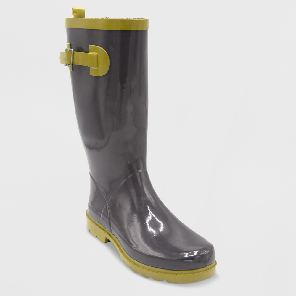 Image of Size 7 Tall Garden Boot - Black - Threshold