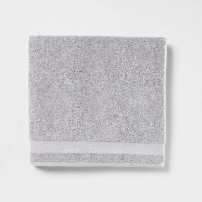 Solid Bath Sheet Gray - Made By Design™