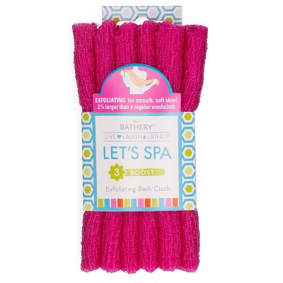 The Bathery Exfoliating Bath Cloth