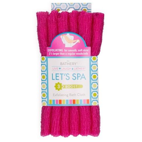 The Bathery Exfoliating Bath Cloth Target