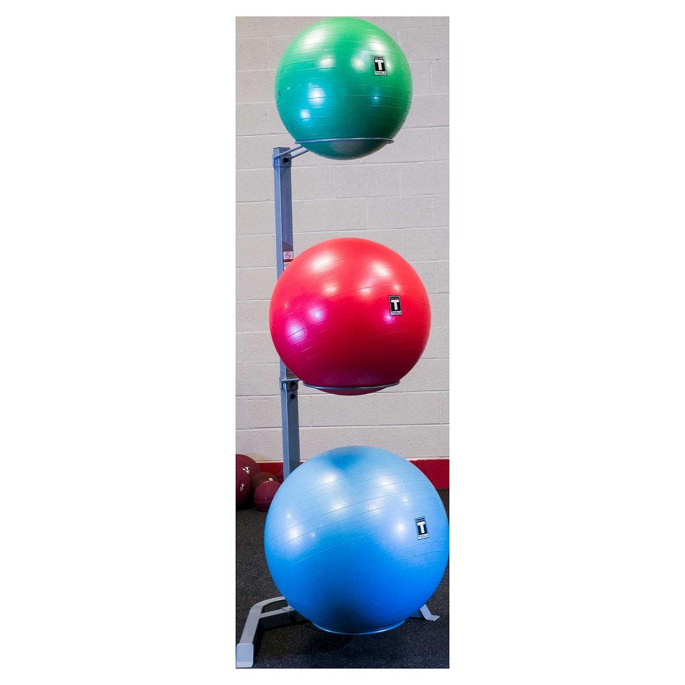 Body Solid Stability Ball Storage Rack, Multi-Colored