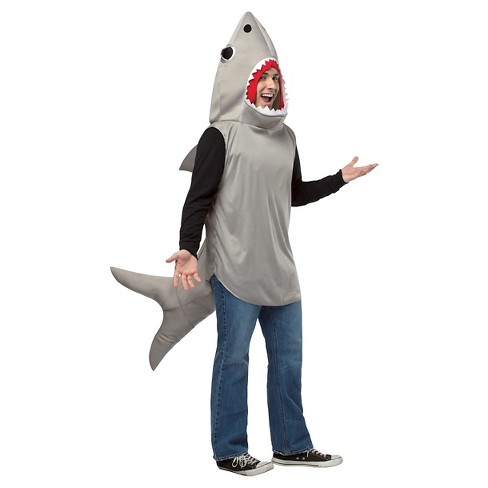 Adult Sand Shark Costume Gray - One Size Fits Most - image 1 of 1