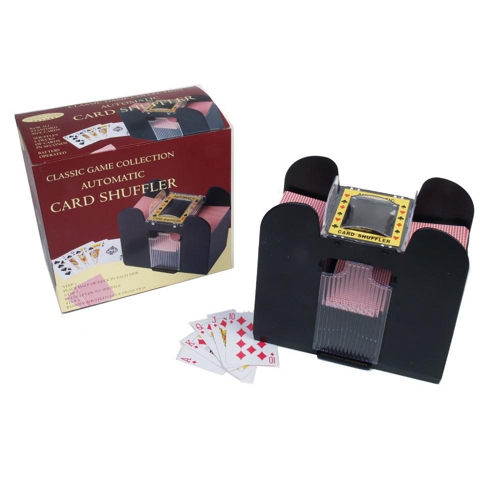 6 Deck Battery Operated Card Shuffler