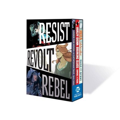 DC Graphic Novels for Young Adults Box Set 1-Resist. Revolt. Rebel. - by  Various (Mixed Media Product)