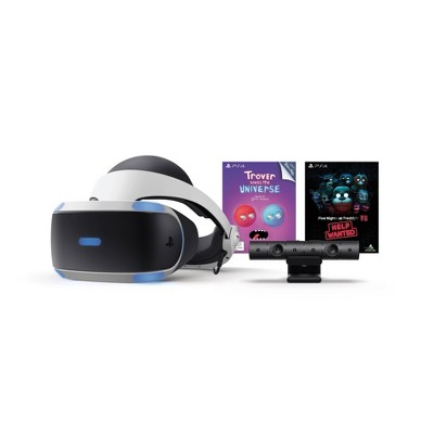 Sony PlayStation VR Bundle with Trover Saves the Universe & Five Nights at Freddy's VR: Help Wanted