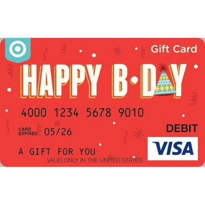 Visa Birthday eGift Card (Email Delivery)