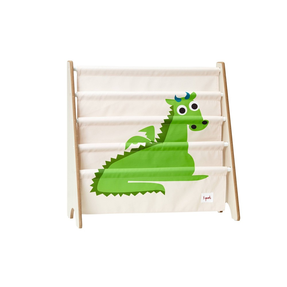 Image of Dragon Book Rack - 3 Sprouts