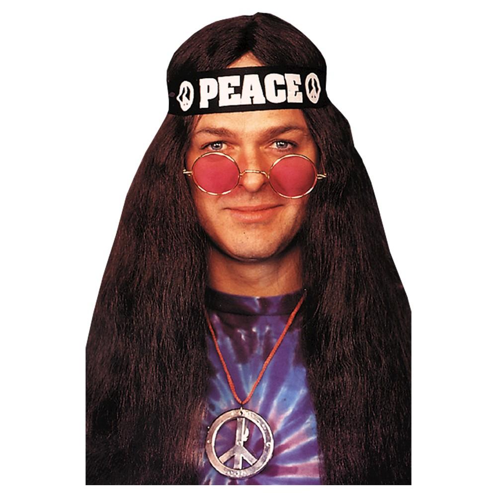 Hippie Kit Costume Set, Adult Unisex, Multi-Colored