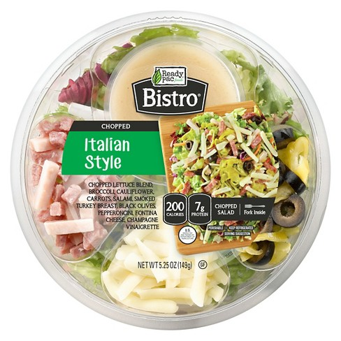 Ready Pac Foods Bistro Italian Style Salad Bowl - 5.25oz - image 1 of 1