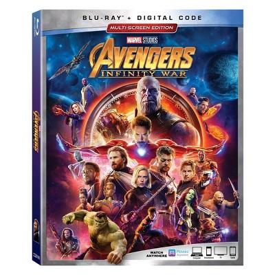 Marvel Avengers: Infinity War (BD + Digital)