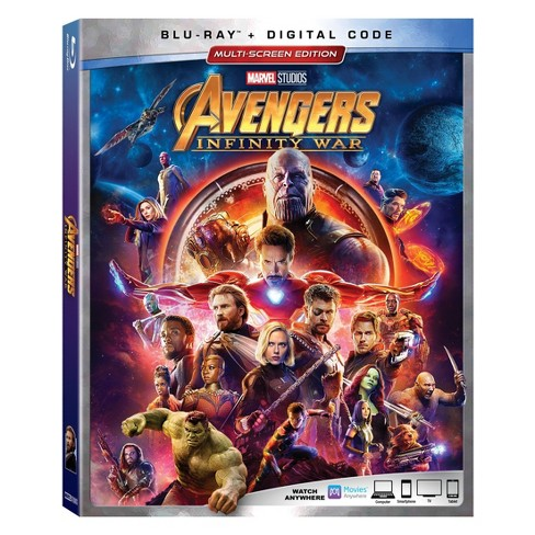 Marvel Avengers: Infinity War (BD + Digital) - image 1 of 1
