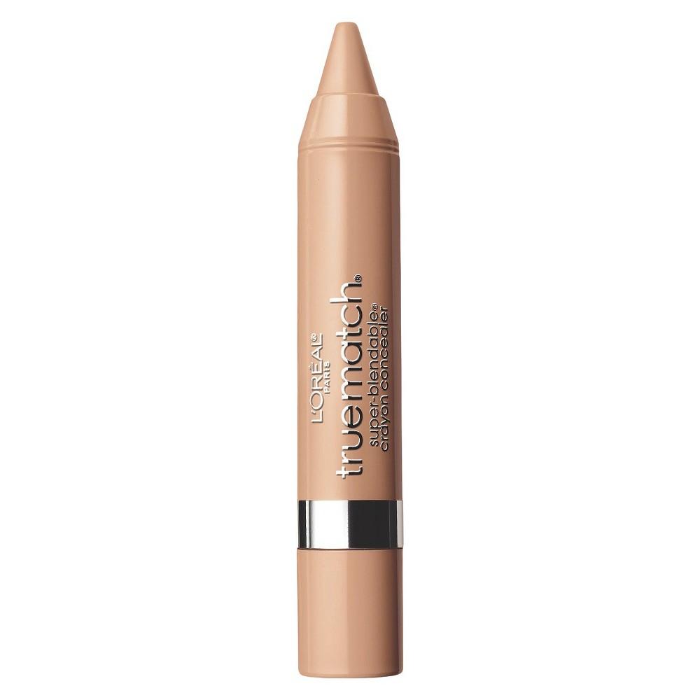 L'Oreal Paris True Match Crayon Concealer N4-5 Light/Medium Neutral .1oz, Light/Medium Neutral N4-5