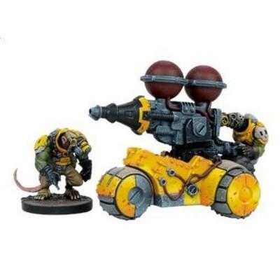 Rumbler Weapons Platform Miniatures Box Set