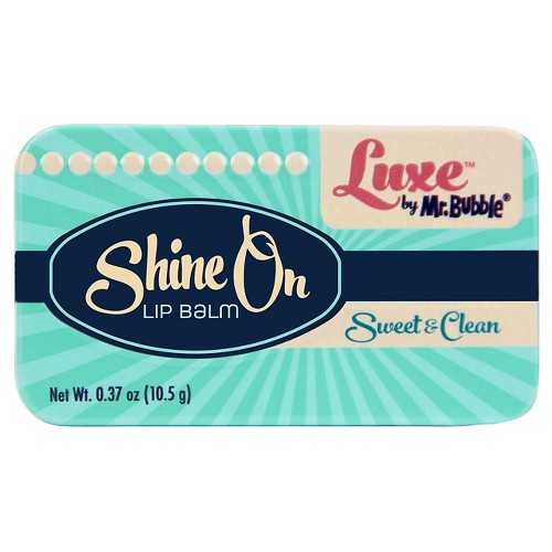 Luxe by Mr. Bubble Sweet & Clean Shine On Lip Balm 0.37oz