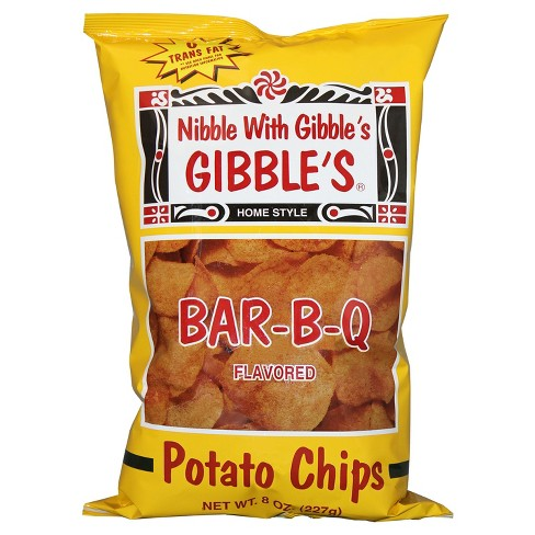 Gibble's Nibble with Gibble's Bar-B-Q Flavored Potato Chips - 8oz - image 1 of 1
