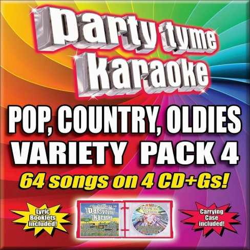 Karaoke - Party Tyme Karaoke - Variety Pack 4 (4 CD) - image 1 of 1