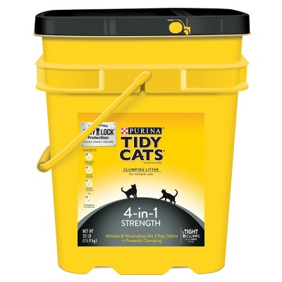 Tidy Cats® 4in1 Strength Cat Litter - 35lbs