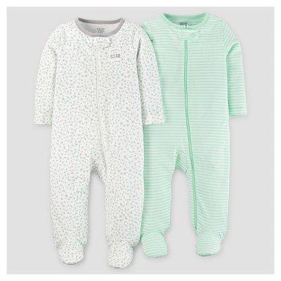 Baby 2pk Sleep N' Play - Just One You™ Made by Carter's® Green/Gray 3M