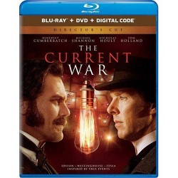 The Current War: Director's Cut (Blu-Ray + DVD + Digital)
