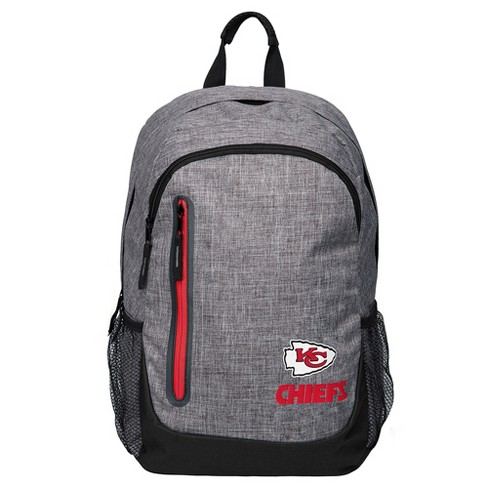 NFL Kansas City Chiefs Forever Collectibles - Heather Grey Bold Color Backpack - image 1 of 3