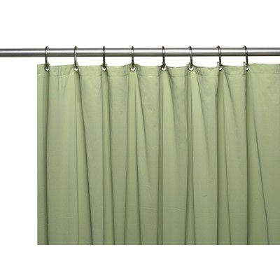 """Carnation Home Fashions 84"""" Extra Long 5 Gauge Vinyl Shower Liner with Metal Grommets 70 Wide  x 84 Long"""