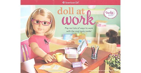 Doll at Work : Play Out Lots of Ways to Work With the Cool Tools Inside! (Paperback) - image 1 of 1