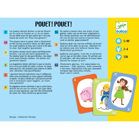 Pouet! Pouet! Board Game, board games image number null