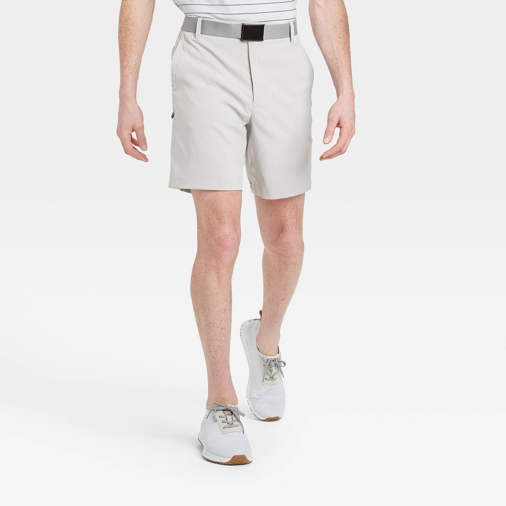 Men's Cargo Golf Shorts - All in Motion Light Gray 38, Men's was $30.0 now $20.0 (33.0% off)