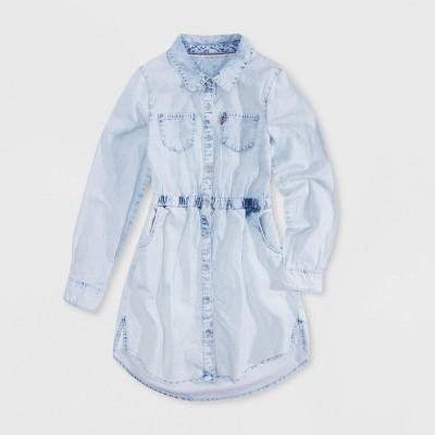Levi's® Girls' Chambray Dress - Pearl Blue