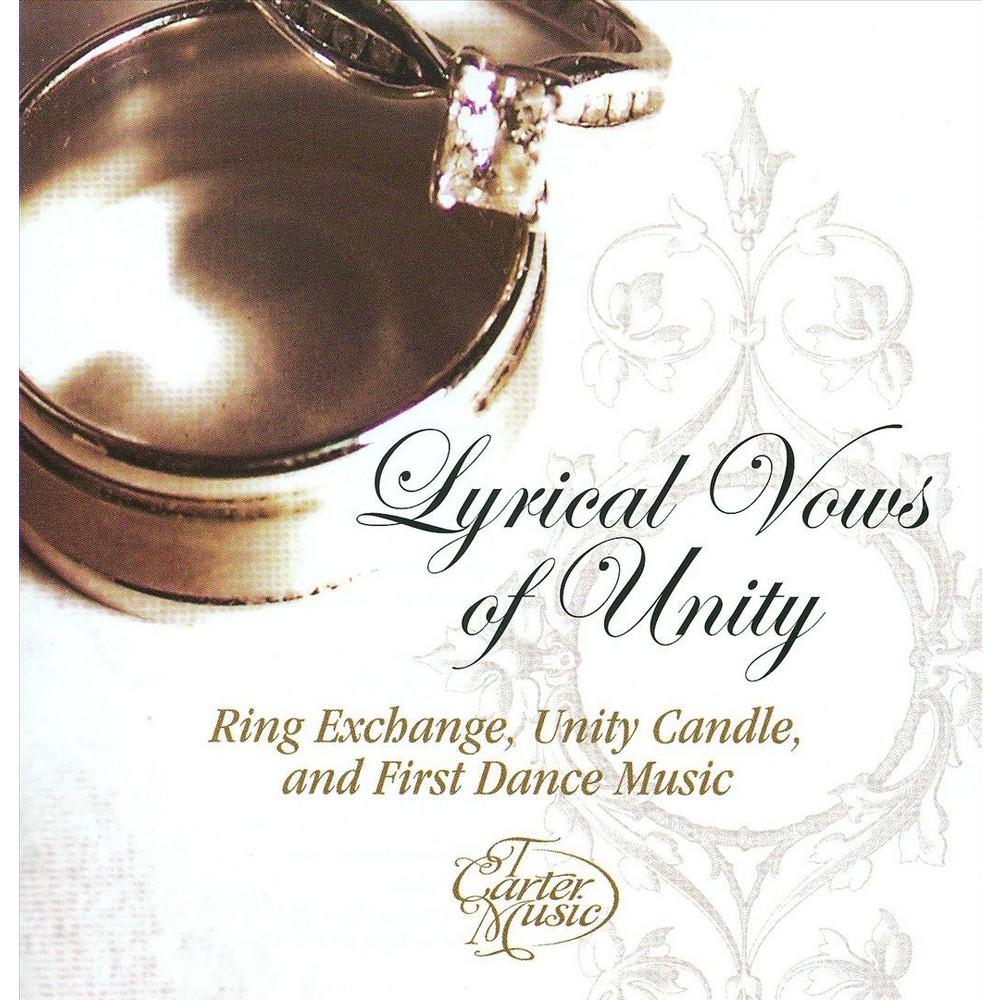 Tony Carter - Lyrical Vows Of Unity (CD)