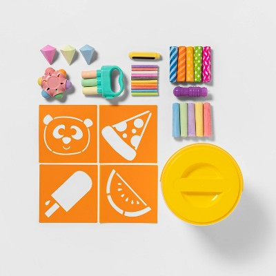 Chalk Bucket Set 40pc - Sun Squad™
