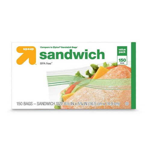 Sandwich Bags 150ct Up