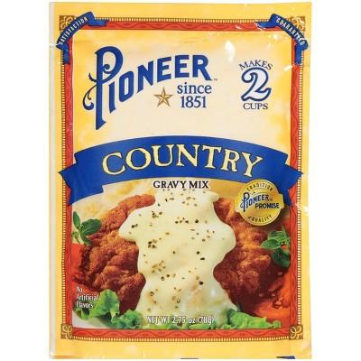 Pioneer Brand Country Gravy Mix 2.75oz