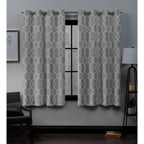 Trilogy Grommet Top Blackout Window Curtain Panels - Exclusive Home - image 1 of 4