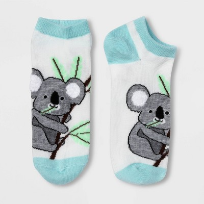 Women's Koala Low Cut Socks - Xhilaration™ White 4-10