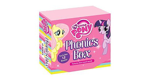 My Little Pony Phonics Box : Features Short Vowel Sounds (Paperback) (Joanne Mattern) - image 1 of 1
