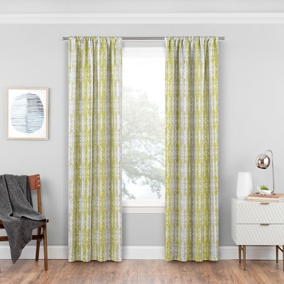 Delaney Thermaweave Blackout Curtain Panels Apple Green 84  - Eclipse