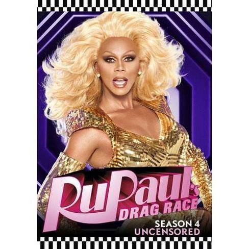 Rupaul's Drag Race: Season 4 Uncensored (DVD) - image 1 of 1