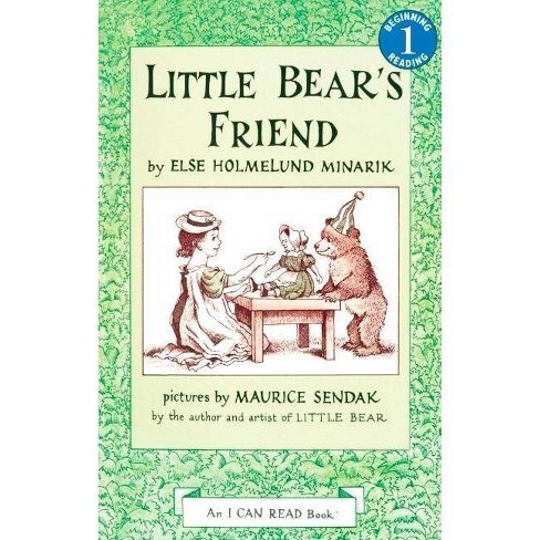 Little Bear's Friend - (I Can Read! - Level 1) by  Else Holmelund Minarik (Hardcover) - image 1 of 1