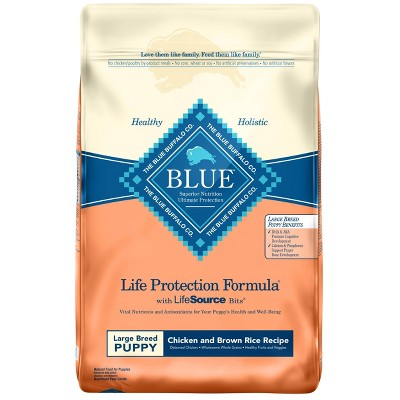 Blue Buffalo Life Protection Chicken & Brown Rice Recipe Large Breed Puppy Dry Dog Food