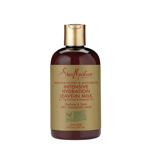 SheaMoisture Manuka Honey & Mafura Oil Intensive Hydration Leave-In Milk - 8 fl oz - image 1 of 4