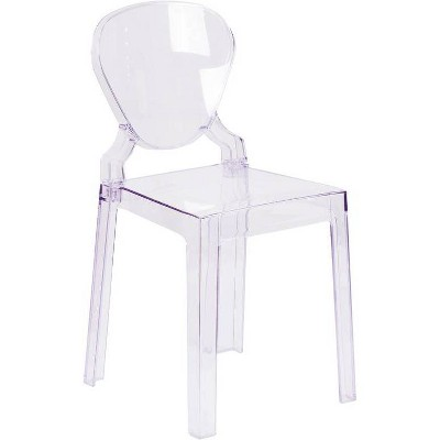Ghost Chair with Tear Back Clear - Riverstone Furniture Collection