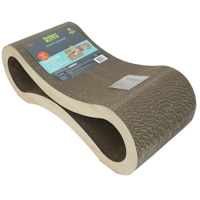 Quirky Kitty Infinity Scratcher Cat Toy - M