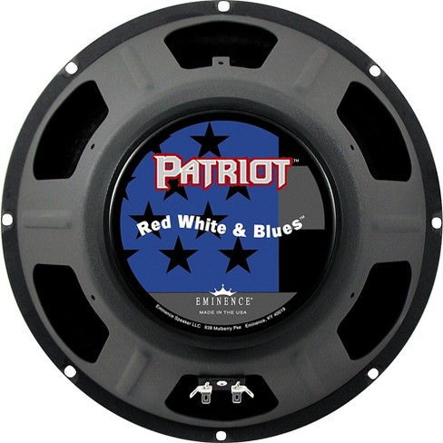 Eminence Patriot Red White and Blues 120W Guitar Speaker 12 in. - image 1 of 3